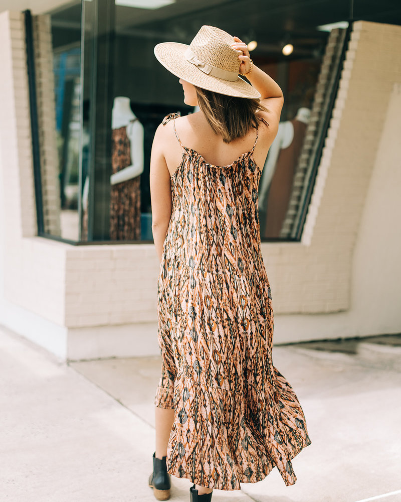 Isabella Vintage Maxi Dress