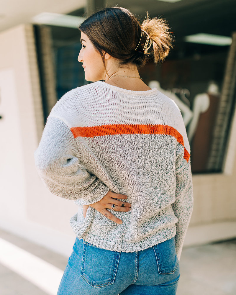ZS - Kennedy Color Block Sweater