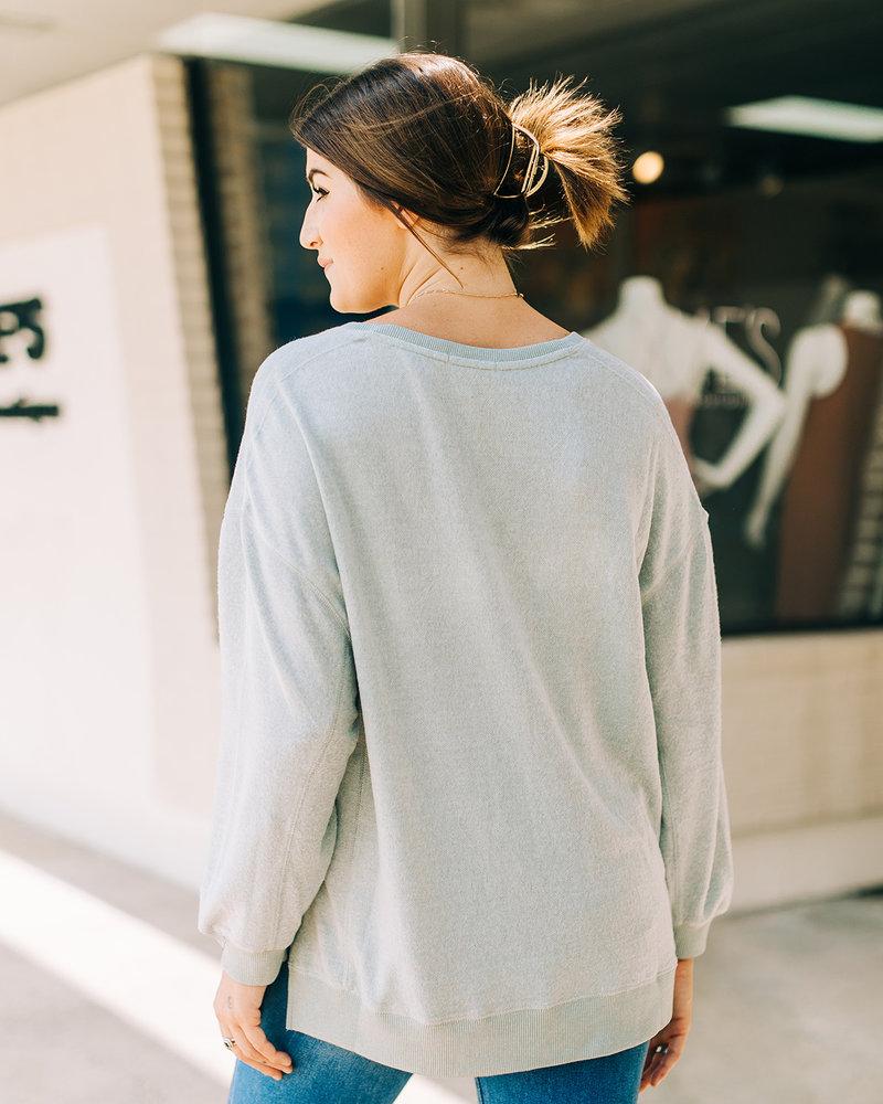Z Supply - Cozy VNeck Modern Sweater