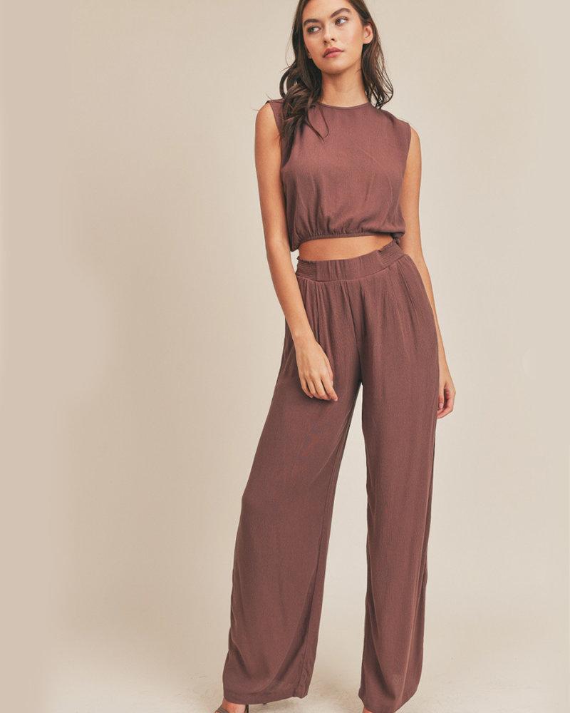 Meg Gauze Top & Pants Set