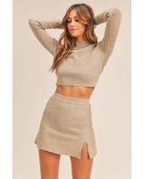 Eve Sweater Top & Skirt Set