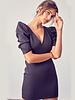 Ember Puff Sleeve VNeck Dress
