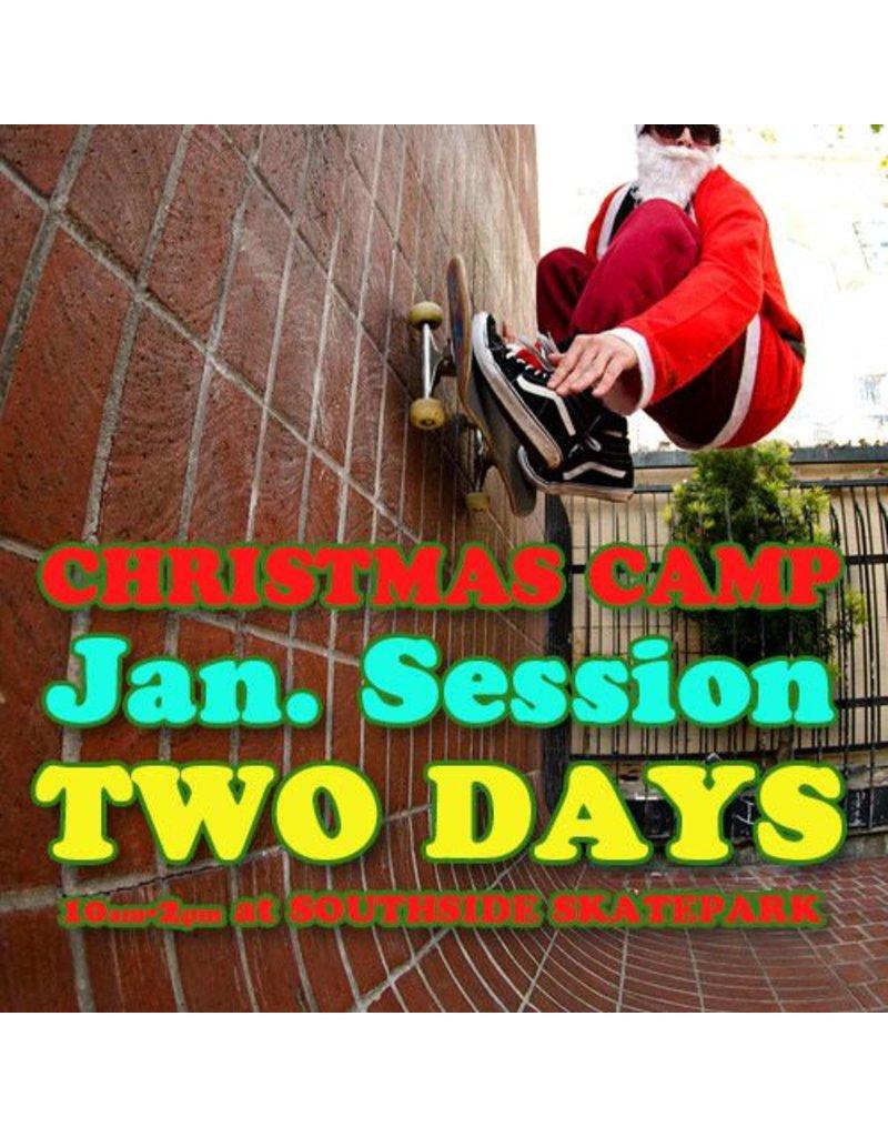 Southside January Skateboarding Camp 2 Days
