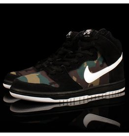Nike SB Dunk High Pro Black White Iguana