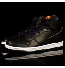 Nike SB Dunk High Pro x NBA Black College Navy