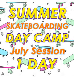 Southside July Skateboarding 1 Day Camp