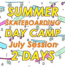 Southside July Skateboarding 2 Days Camp