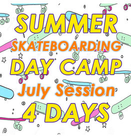 Southside July Skateboarding 4 Days Camp