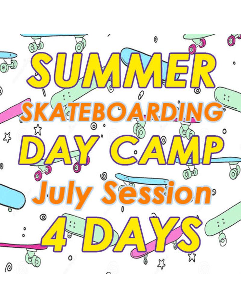 Southside July Skateboarding 4 Days Camp