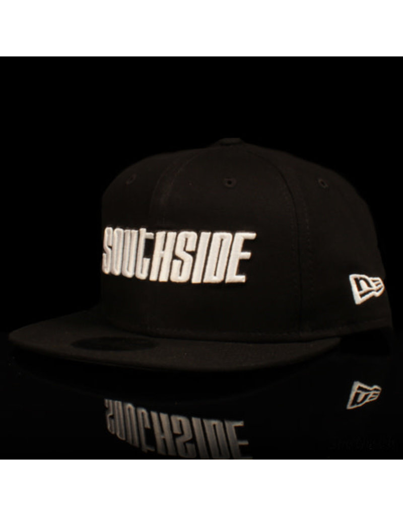 Southside Southside Hat New Era 950 Black White 25 Year Anniversary Snapback