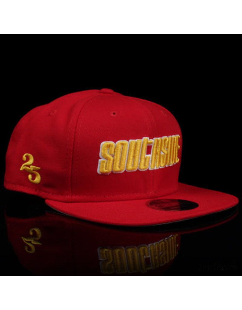 Southside Southside Hat New Era 950 Red Yellow 25 Year Anniversary Snapback
