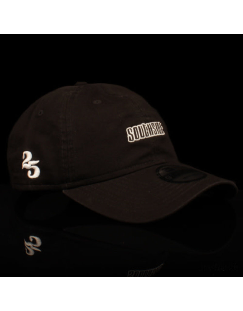 Southside Southside Hat New Era 920 Black White 25 Year Anniversary Adjustable