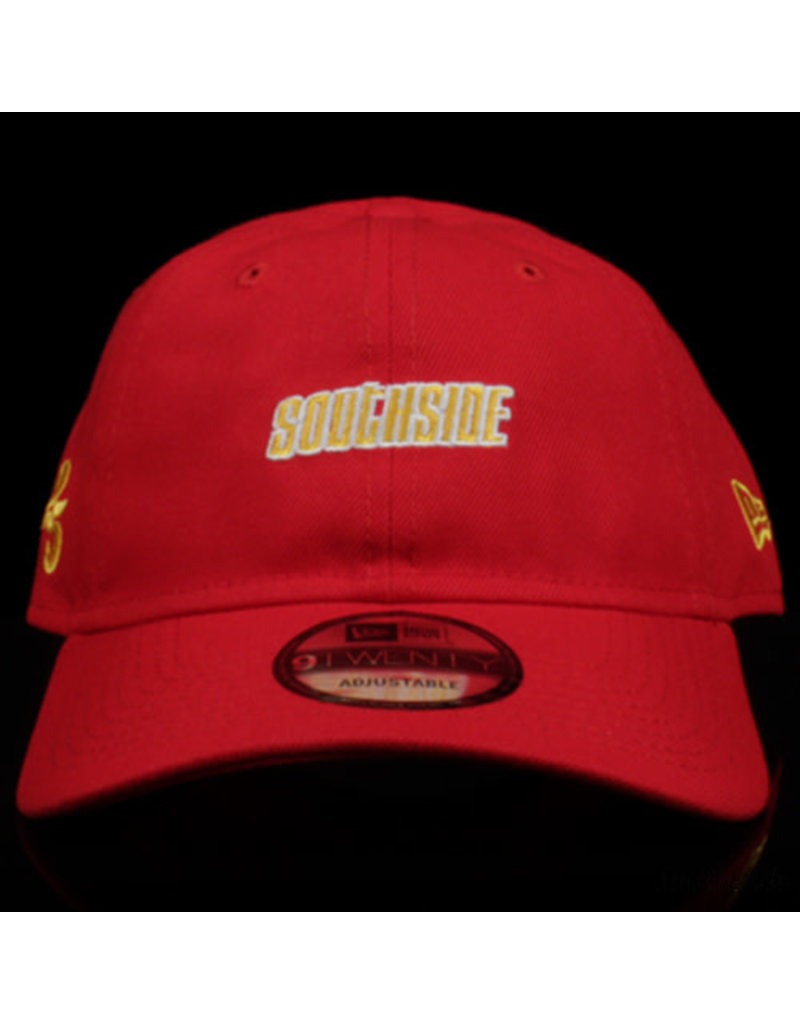 Southside Southside Hat New Era 920 Red Yellow 25 Year Anniversary Adjustable