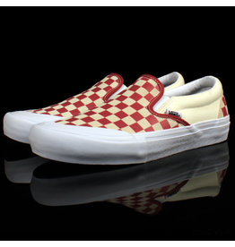 VANS Vans Slip On PRO Checkerboard Mineral Red