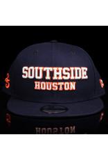 Southside Southside Hat New Era 950 Navy Orange White 25 Year Anniversary Snapback