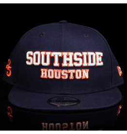 Southside Southside Hat New Era 950 Navy Orange White 25 Year Anniversary Snapback