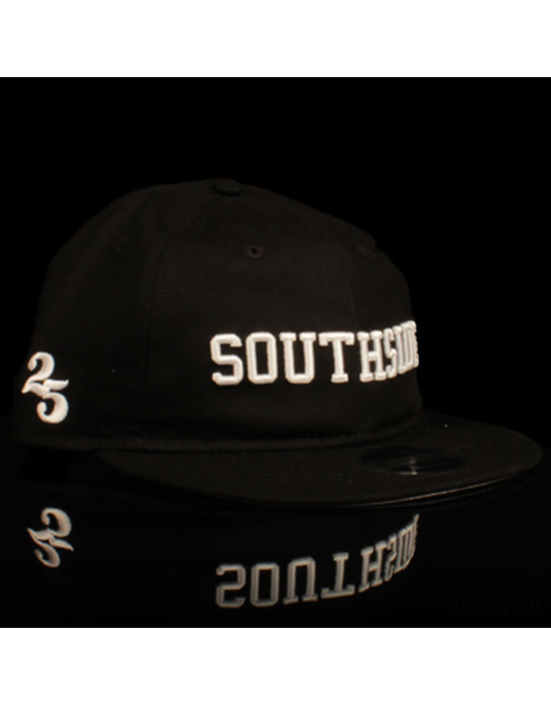 Southside Southside Hat New Era 950 Retro Crown Black White 25 Year Anniversary Snapback