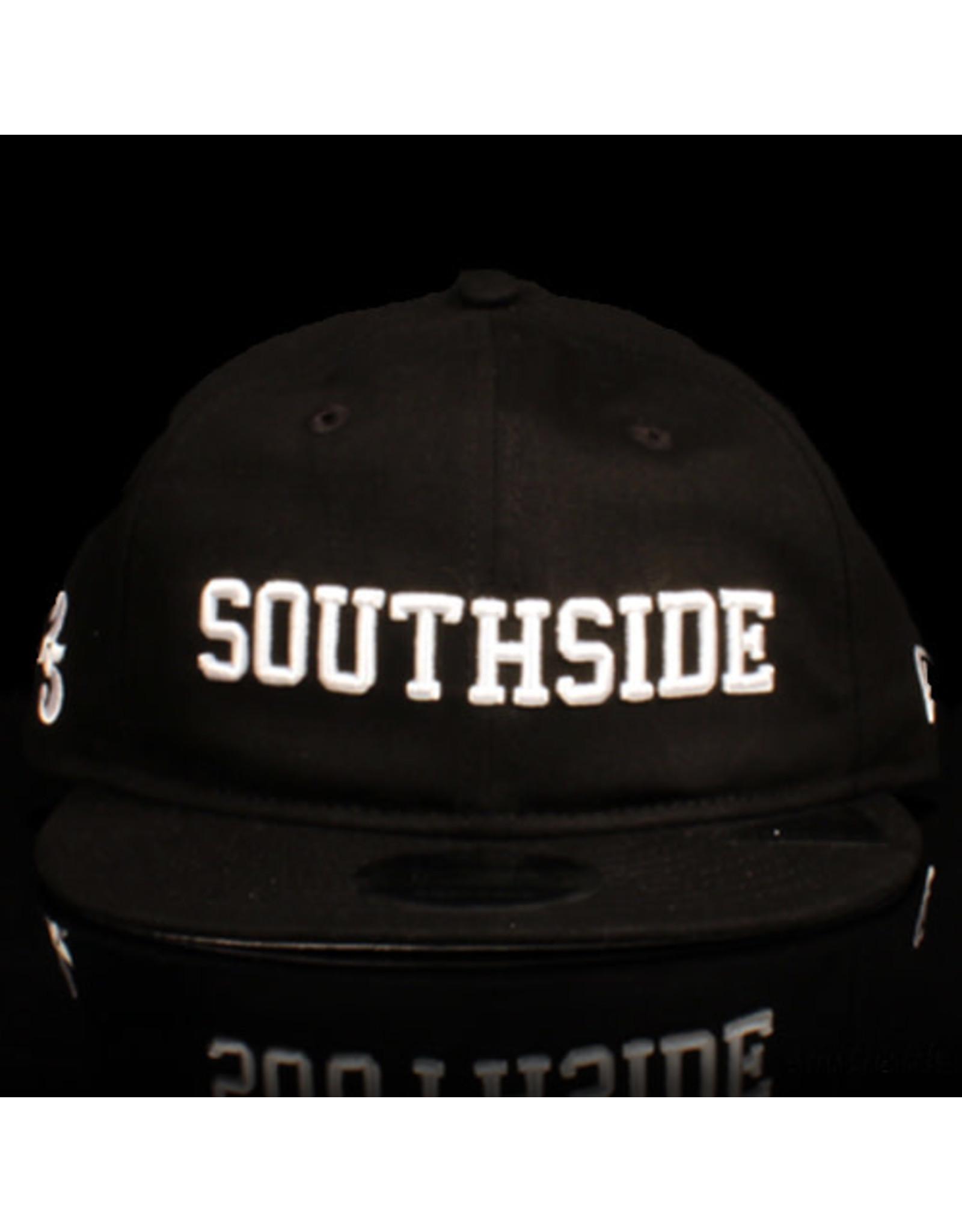 Southside Southside Hat New Era 950 Retro Crown Black White 25 Year Anniversary Snapback