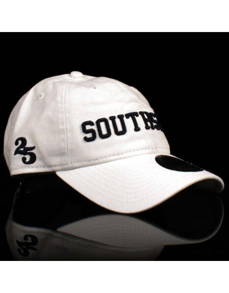Southside Southside Hat New Era 950 Retro Crown White Navy 25 Year Anniversary Snapback