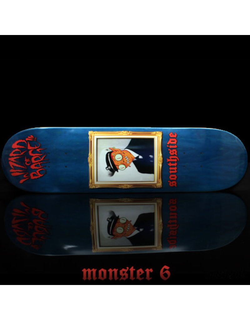 Southside Southside x Wizard of Barge Skateboard Deck SHORT 8.38x31.6