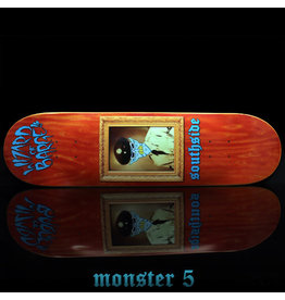 Southside Southside x Wizard of Barge Skateboard Deck SHORT 8.5x31.7