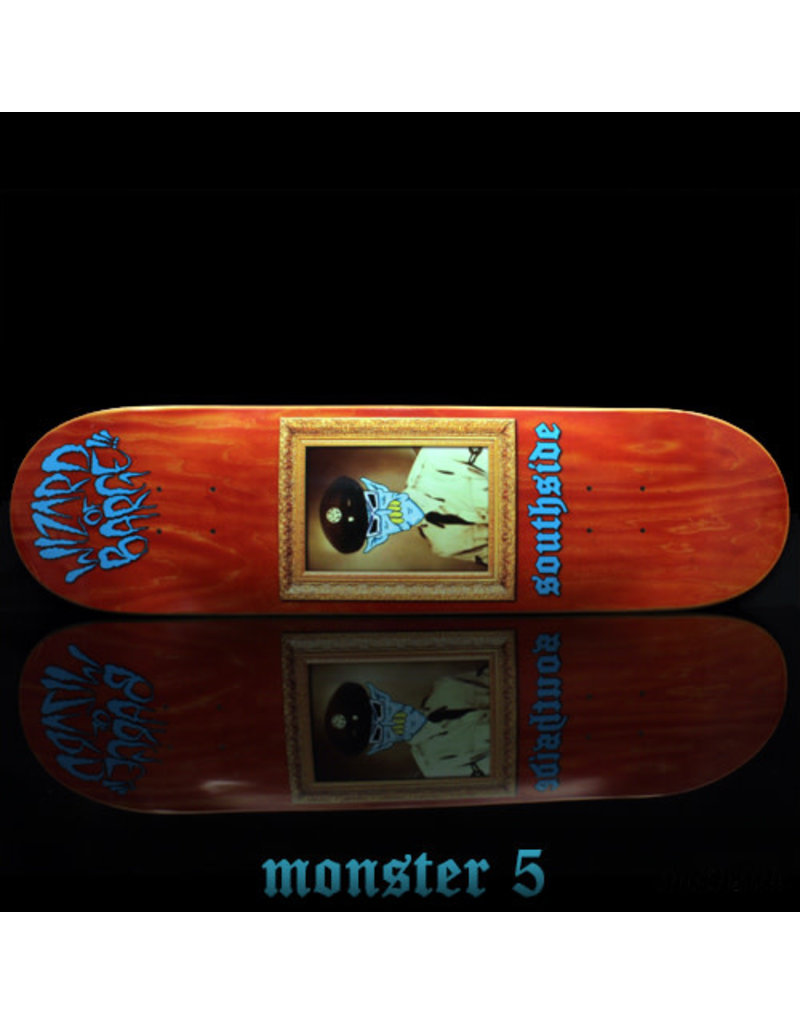 Southside Southside x Wizard of Barge Skateboard Deck SHORT 8.5x31.7