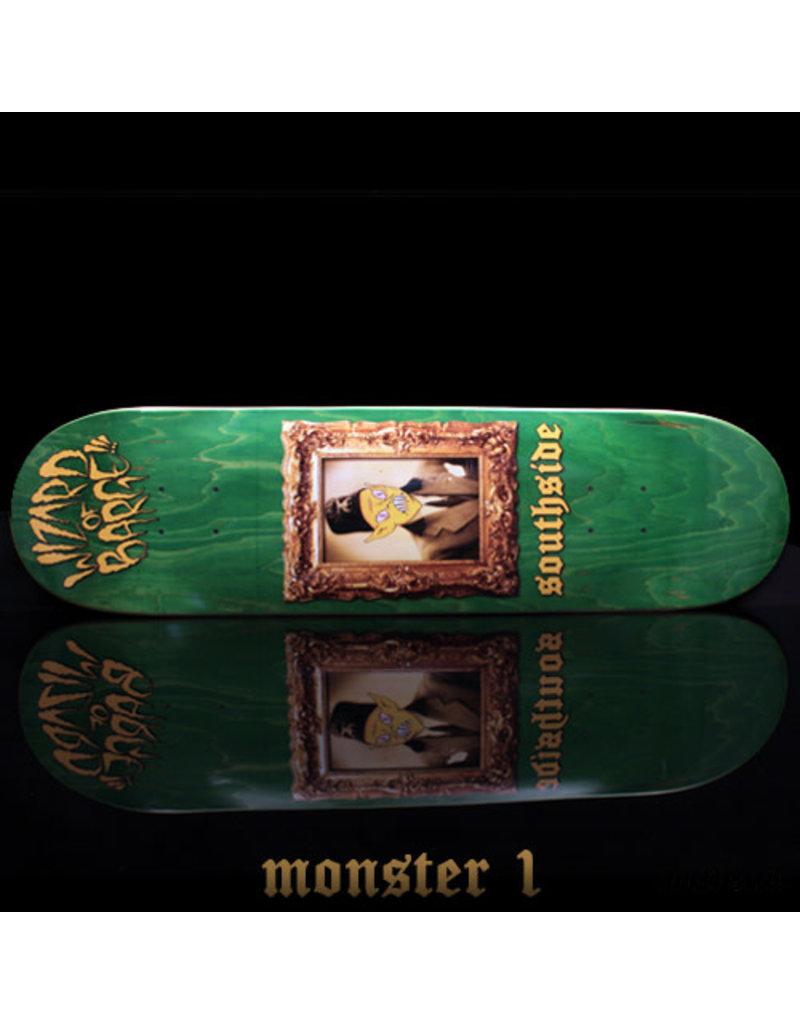 Southside Southside x Wizard of Barge Skateboard Deck SHORT 8.25x31.6