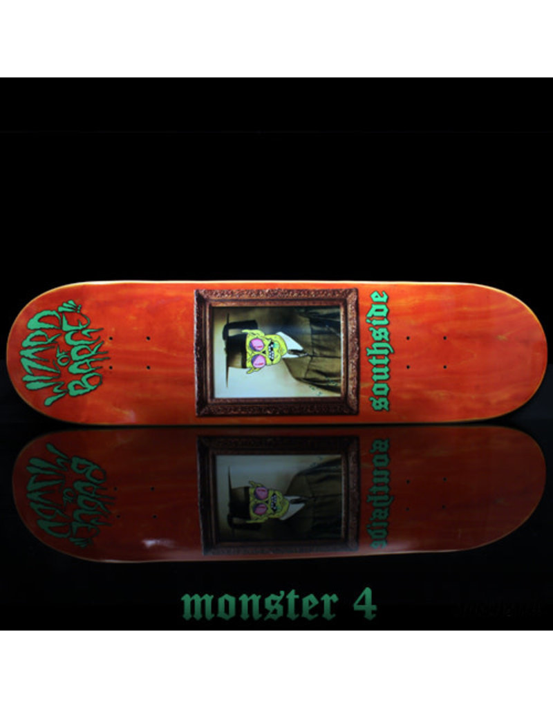 Southside Southside x Wizard of Barge Skateboard Deck SHORT 8.12x31.5