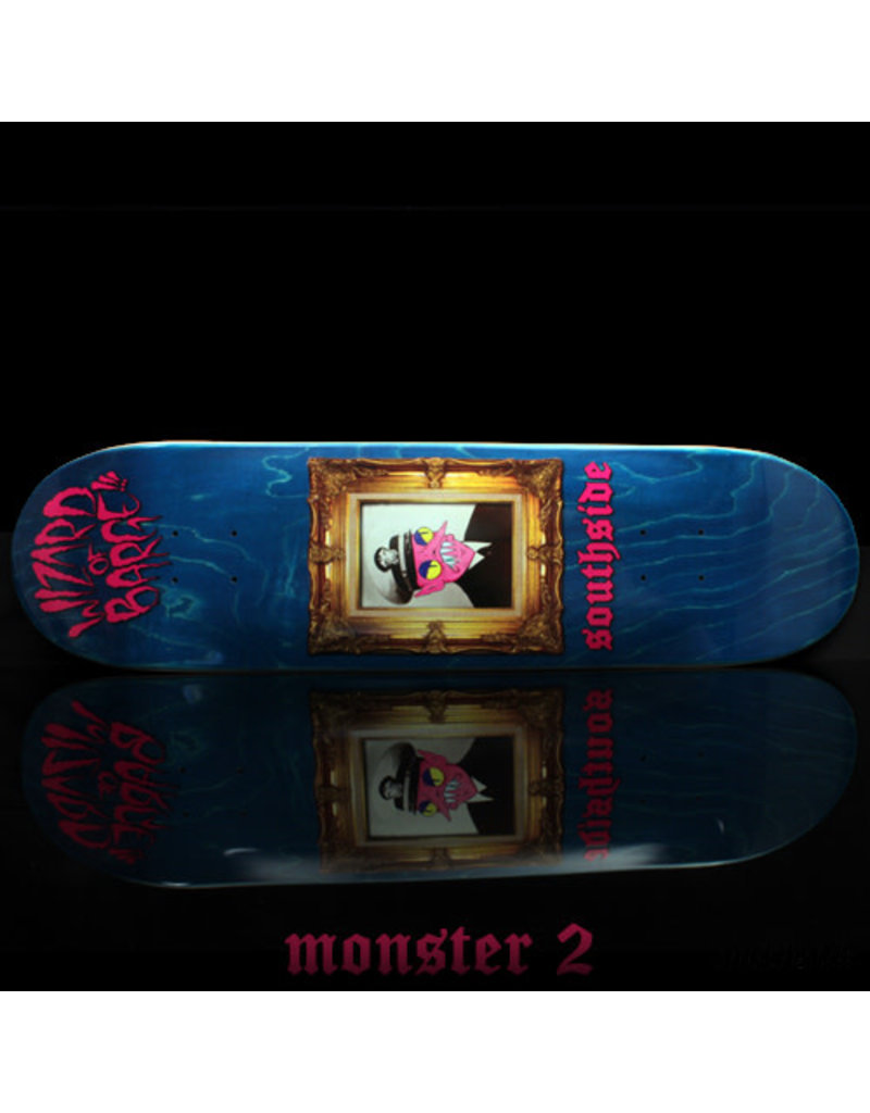 Southside Southside x Wizard of Barge Skateboard Deck 8.38x32.25
