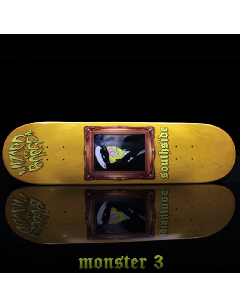 Southside Southside x Wizard of Barge Skateboard Deck 8.5x32.1
