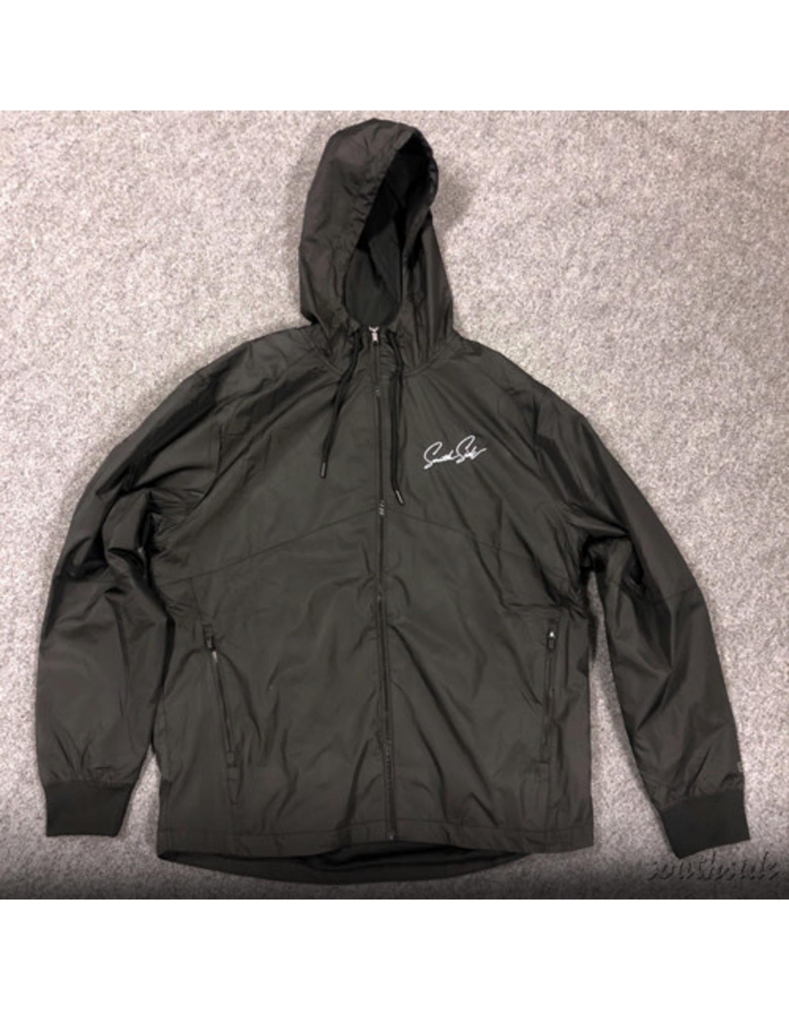 Southside Southside Script Jacket Embroidered Black