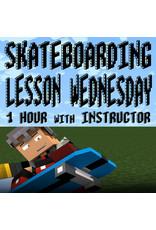 Southside Skateboarding Lesson 1 Hour Wednesday at Southside Skatepark