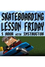 Southside Skateboarding Lesson 1 Hour Friay at Southside Skatepark