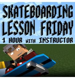 Southside Skateboarding Lesson 1 Hour Friday at Southside Skatepark