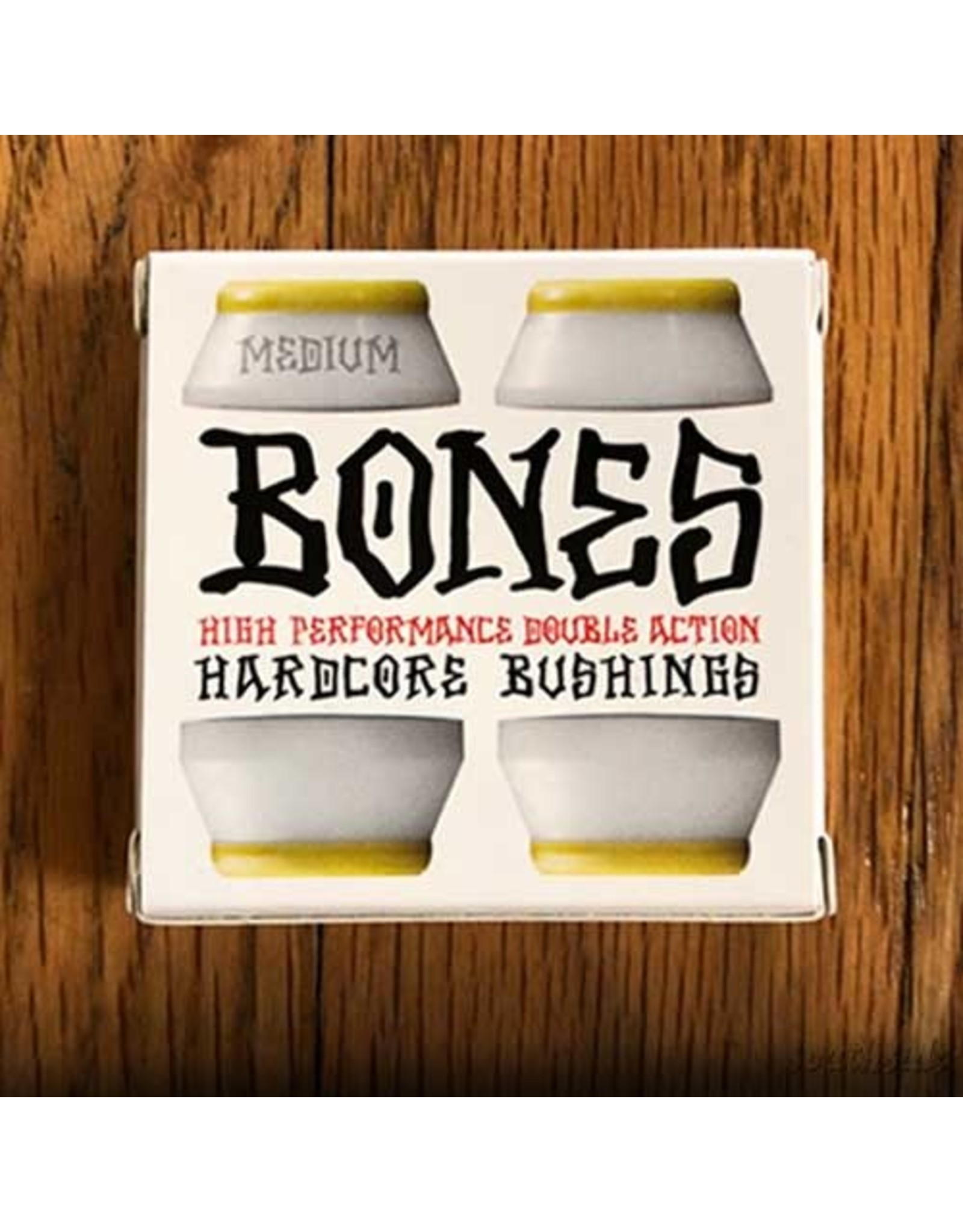 BONES Hardcore Bushing Medium White