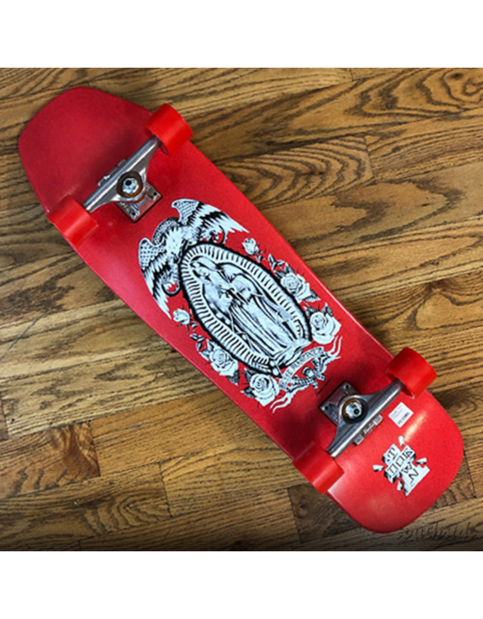 Dogtown Jesse Martinez Red Candy Dipped Complete Shaped