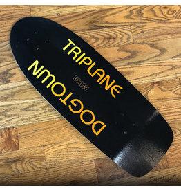 Dogtown Deck Muir Triplane BLK/ORG 11x30.12