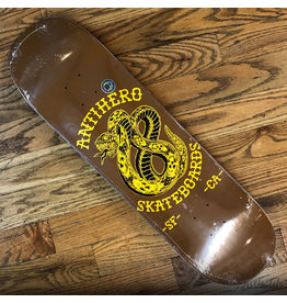 Anti Hero Deck Eighteen Brown 8.5x31.7