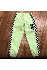 VANS Vans Pant Checker Black or Lime