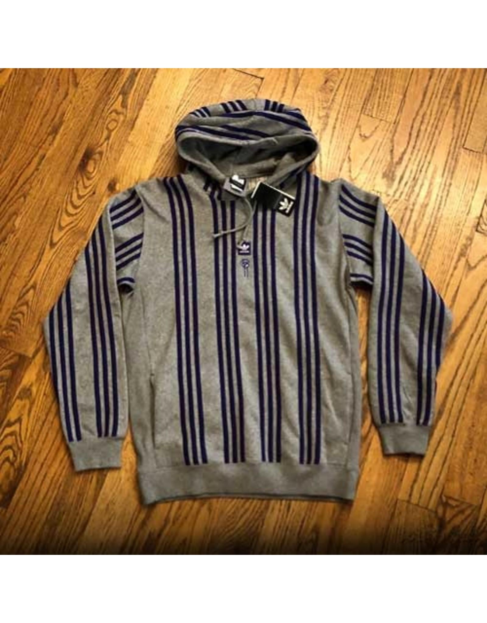 ADIDAS Adidas x Hardies Sport Gray with Purple Stripes