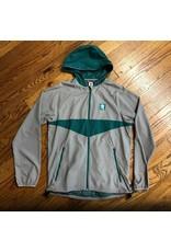 ADIDAS Adidas Jacket Dekum Packable Gray Teal
