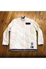 ADIDAS Adidas x Hardies Jacket White with Purple Accents