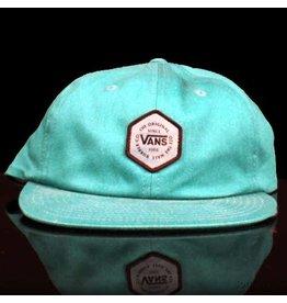VANS Vans Hat Willits Vintage 6 Panel Strapback Teal