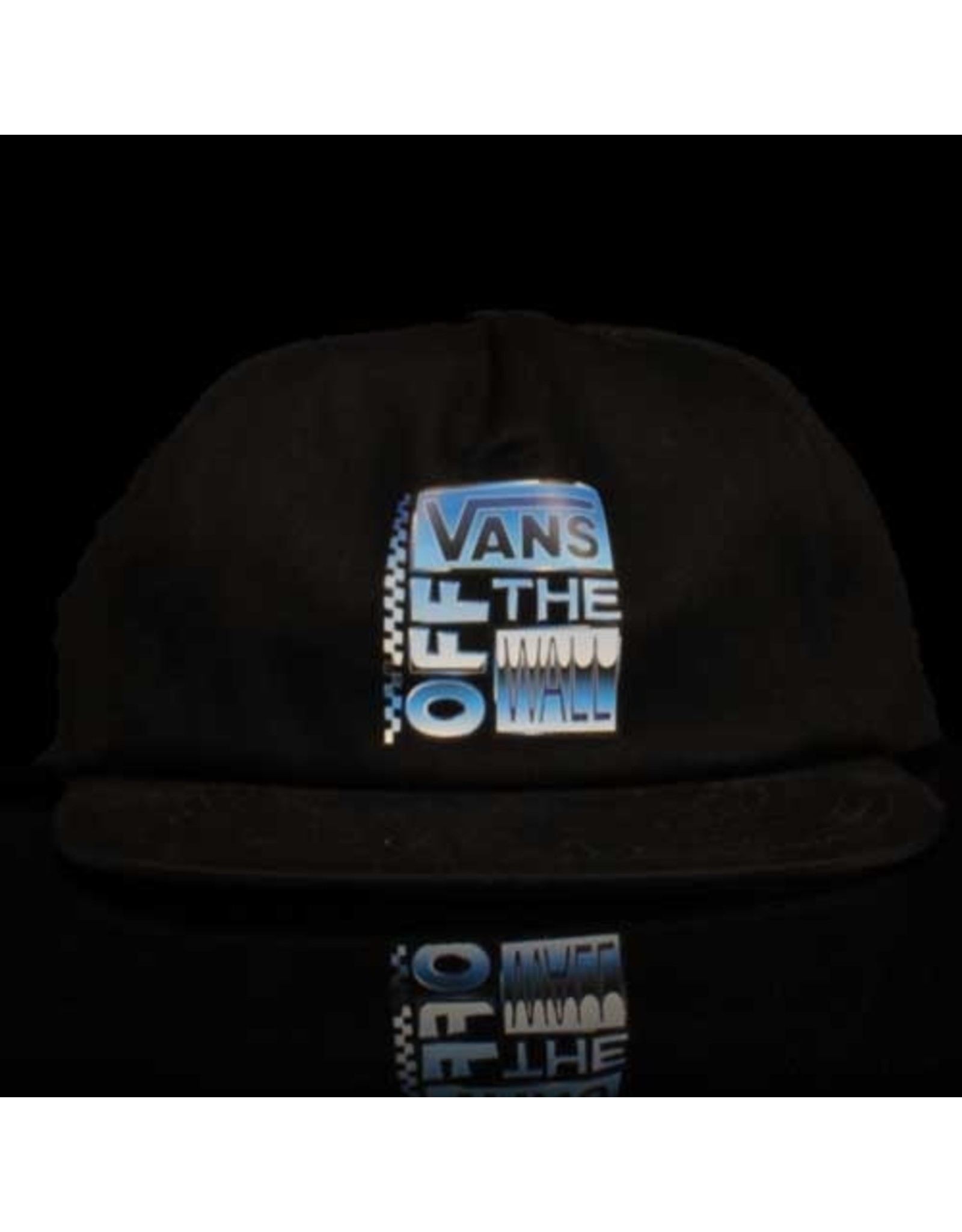 VANS Vans Hat AVE Shallow 6 Panel Snapback Black