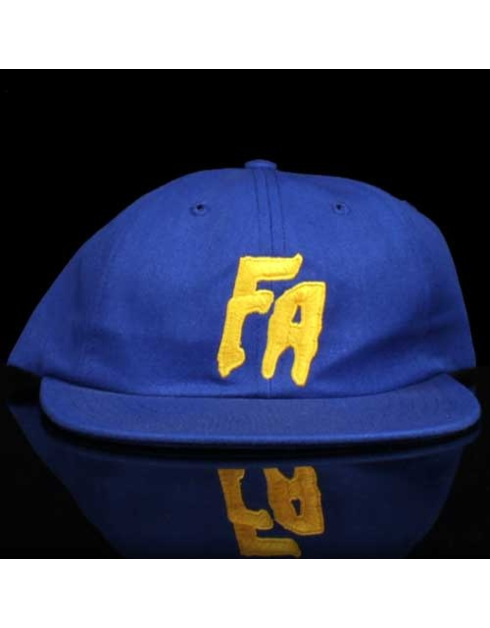 FA Hat 6 Panel Royal Snapack Yellow Embroidery