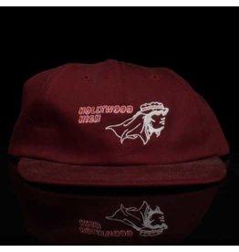 VANS ABC Hat Co. Hat Hollywood High Strapback Maroon