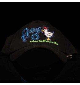 Frog Hat Chicken Black Snapback