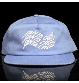 Santa Cruz Hat Spectrum Snapback Blue White Embroidery