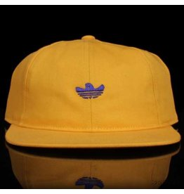 ADIDAS Adidas Hat Shmoo 6 Panel Strapback Yellow Blue Embroidery