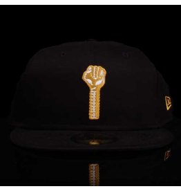New Era x Hardies Black Gold Bolt Fitted